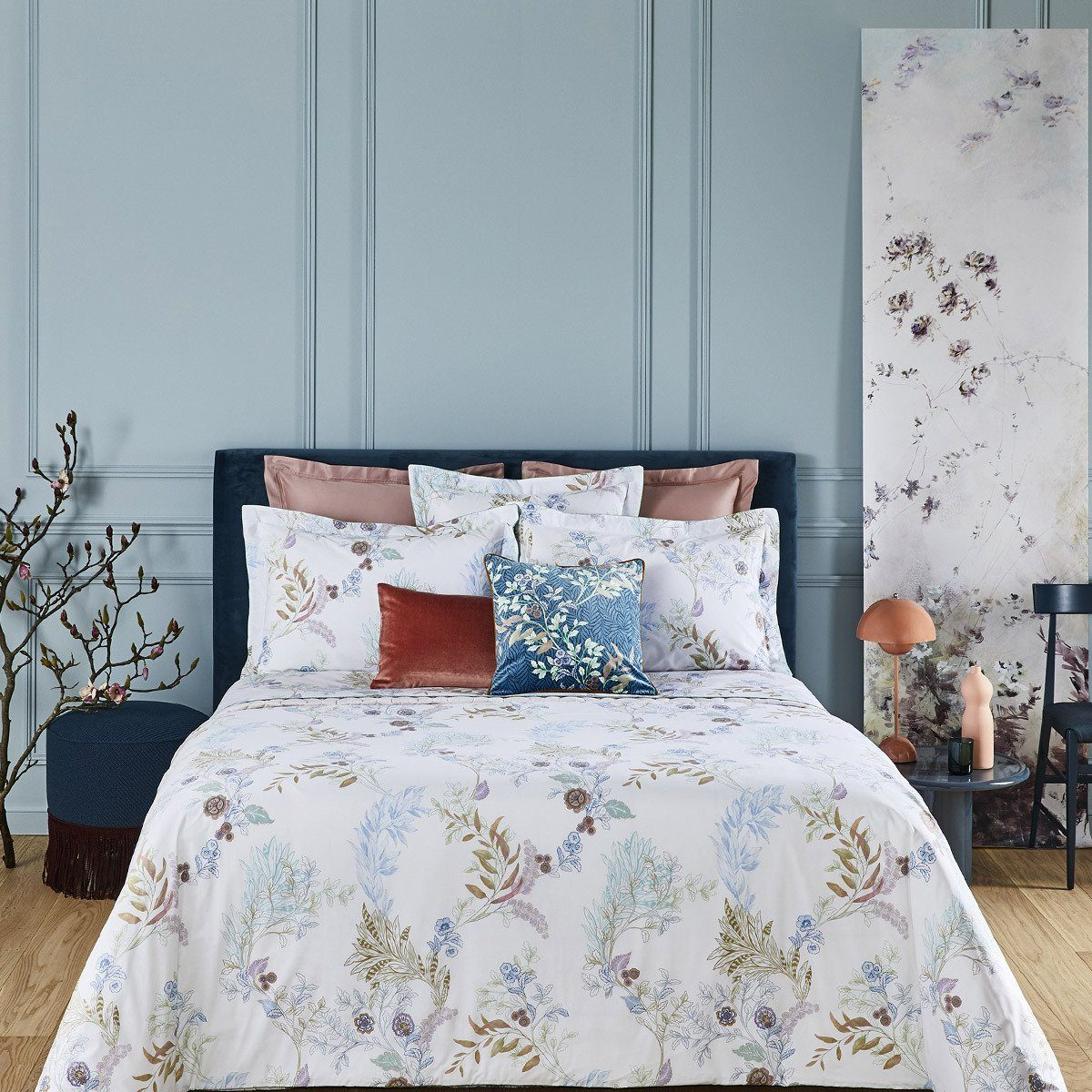Fig Linens - Yves Delorme Caliopee Bedding and Pillow