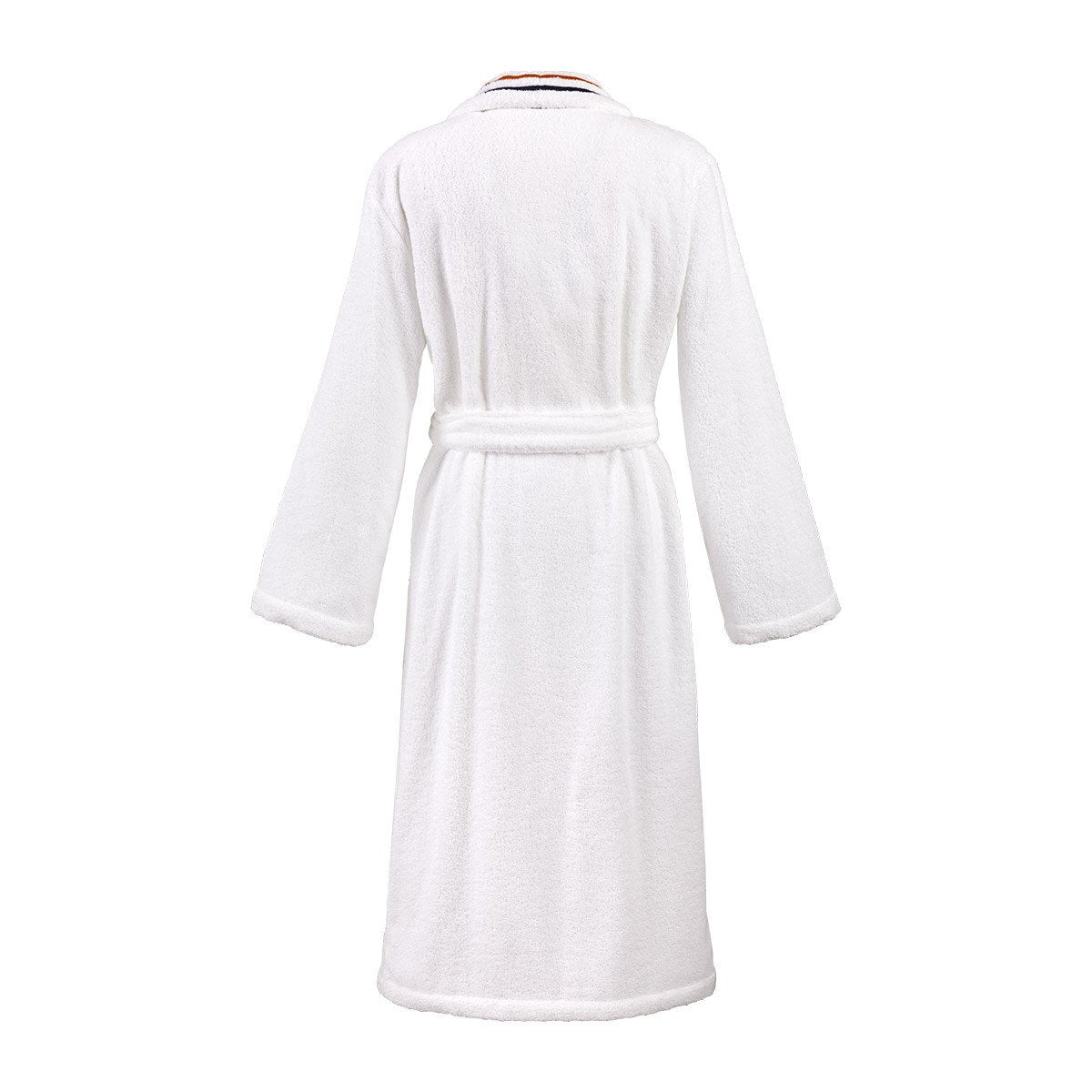 Fig Linens - Dyade Women's Bathrobe by Yves Delorme - Back