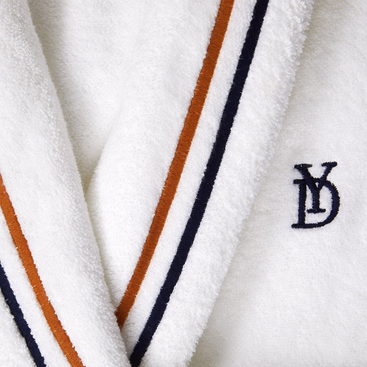 Fig Linens - Dyade Women's Bathrobe with Shawl Collar by Yves Delorme