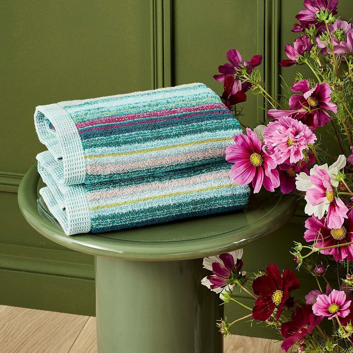 Fougue Bath Towels by Yves Delorme
