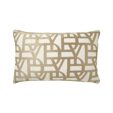 Initial Decorative Pillow by Yves Delorme | Fig Linens and Home