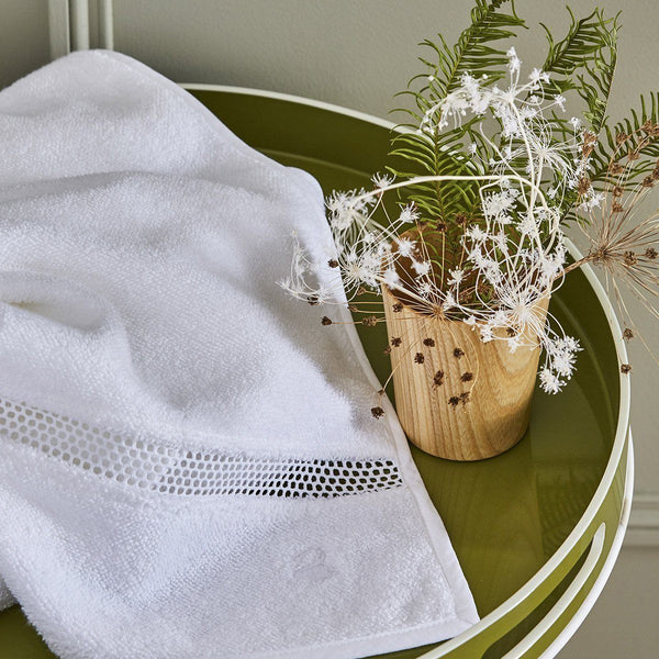 Oriane Bath Towels by Yves Delorme | Fig Fine Linens and Home