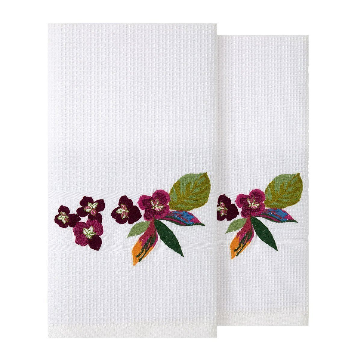 Utopia Fingertip Towels by Yves Delorme - Set of 2| Fig Linens and Home