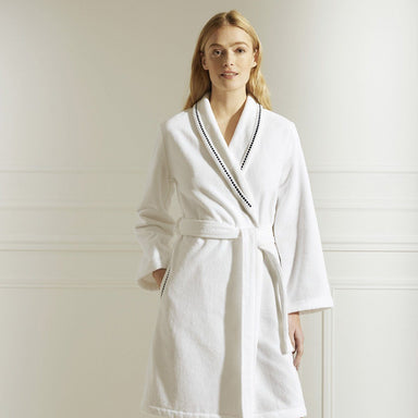 Victoire Marine Robe by Yves Delorme | Fig Linens and Home