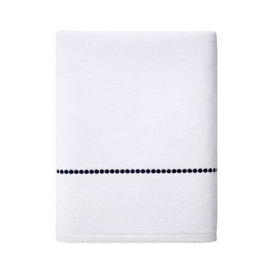 Victoire Marine Bath Towels by Yves Delorme | Fig Linens and Home