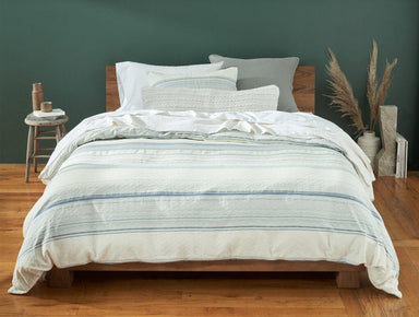 Pacific Grove Sky Duvet and Shams by Coyuchi