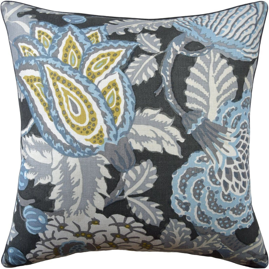 Mitford Grey Pillow by Ryan Studio
