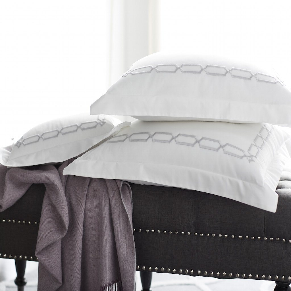 Arezzo Shams - Bedding by Scandia Home | Fig Linens