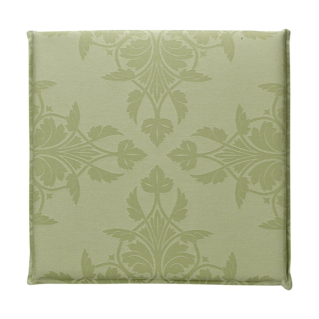 Fig Linens - Le Jacquard Francais Outdoor Collection - Syracuse Green Cushion