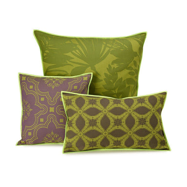 Le Jacquard Francais - Bahia Jungle Green Outdoor Pillows | Fig Linens