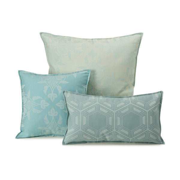 Le Jacquard Francais - Syracuse Aqua Outdoor Pillow Collection | Fig Linens