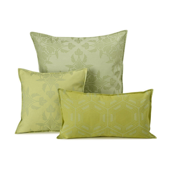 Le Jacquard Francais - Syracuse Green Outdoor Pillow Collection | Fig Linens
