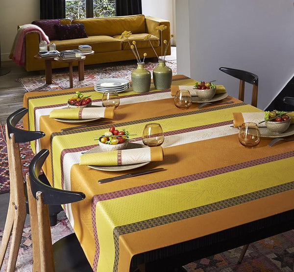 Le Jacquard Francais - Vent D'Ouest Honey Table Linens | Fig Linens