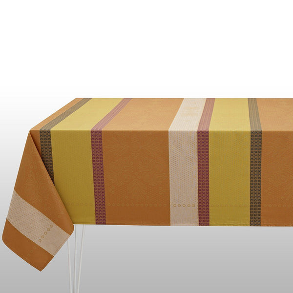 Fig Linens - Le Jacquard Francais - Vent D'Ouest Honey Tablecloth