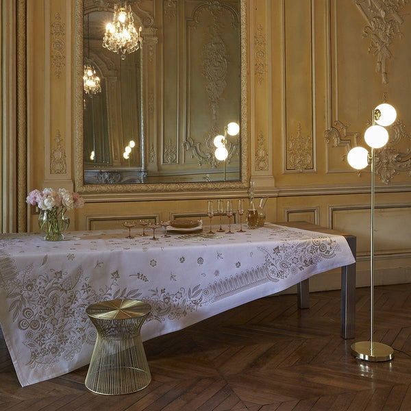 Fig Linens - Le Jacquard Francais - Haute Couture Gold Table Linens