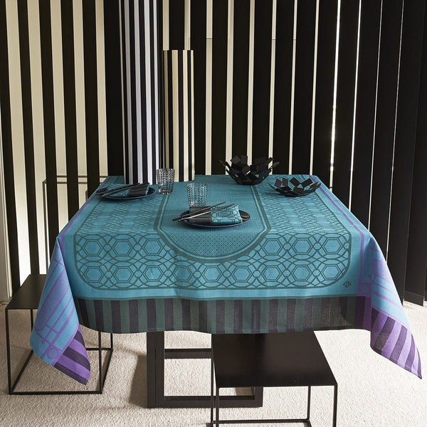 Fig Linens - Le Jacquard Francais - Palais Royal Boxwood Table Linens