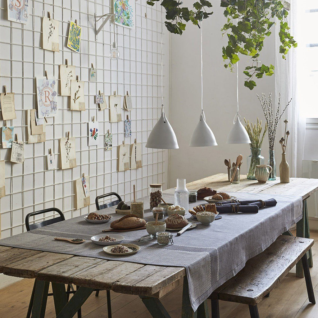 Slow Life Clay Table Linens by Le Jacquard Français | Fig Linens