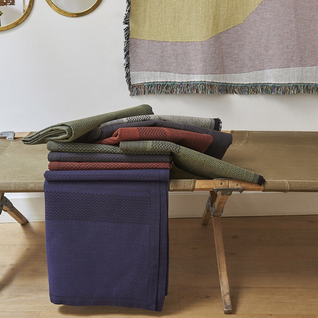 Slow Life Nomad Throws by Le Jacquard Français | Fig Linens