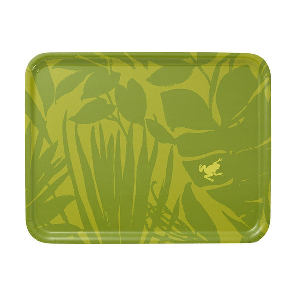 Bahia Green Wood Tray by Le Jacquard Français | Fig Linens