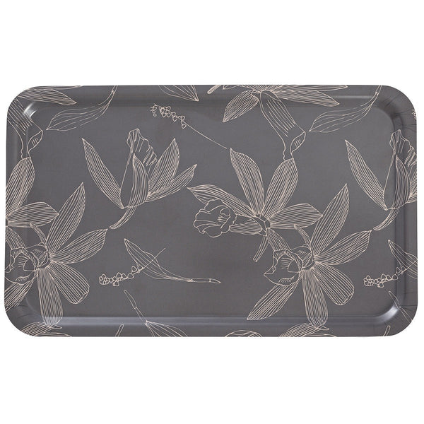Slow Life Carbon Maxi Wood Tray by Le Jacquard Français | Fig Linens