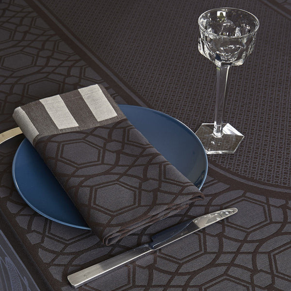 Fig Linens - Le Jacquard Francais - Palais Royal Bronze Table Linens - Napkins, Placemats