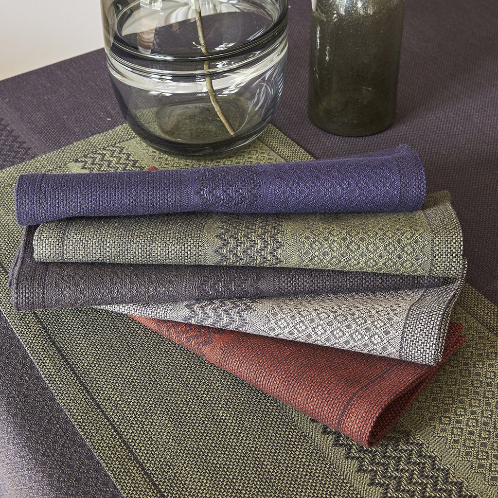 Fig Linens - Le Jacquard Francais Table Linens - Slow Life Napkins