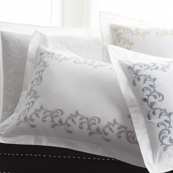 San Remo Pillow Shams - Bedding by Scandia Home | Fig Linens