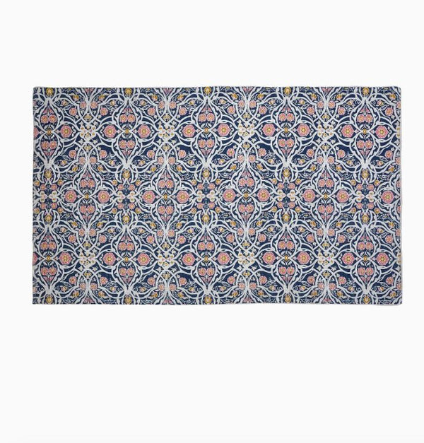 Avela Indigo Outdoor Rug by John Robshaw | Fig Linens