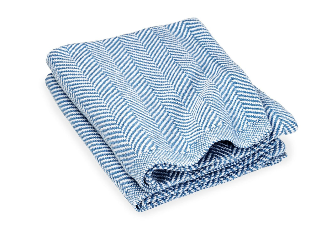 Penobscot Denim Baby Blanket by Brahms Mount | Fig Linens and Home