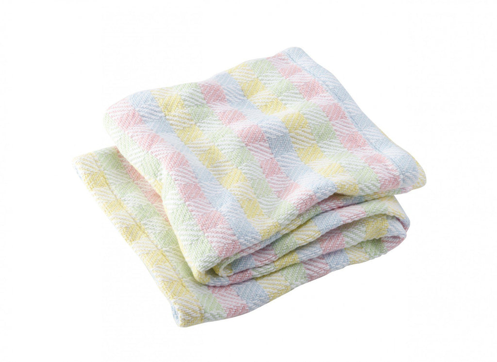 Tourmaline Gender Neutral Baby Blanket by Brahms Mount | Fig Linens and Home