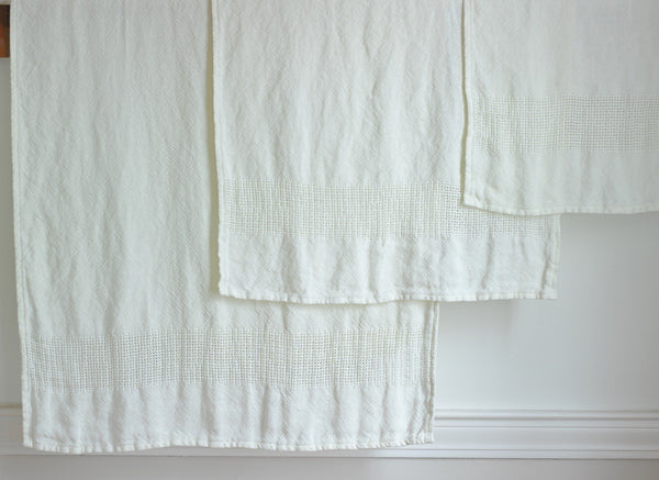 Bradbury Linen Bath Towels by Brahms Mount | Fig Linens