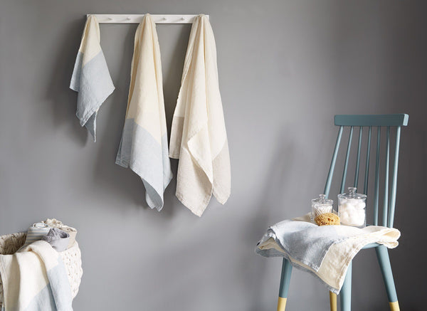 Caribou Linen Bath Towels by Brahms Mount | Fig Linens