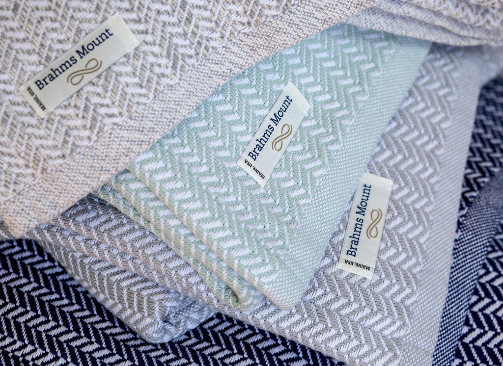 Chebeague Blankets by Brahms Mount | Fig Linens