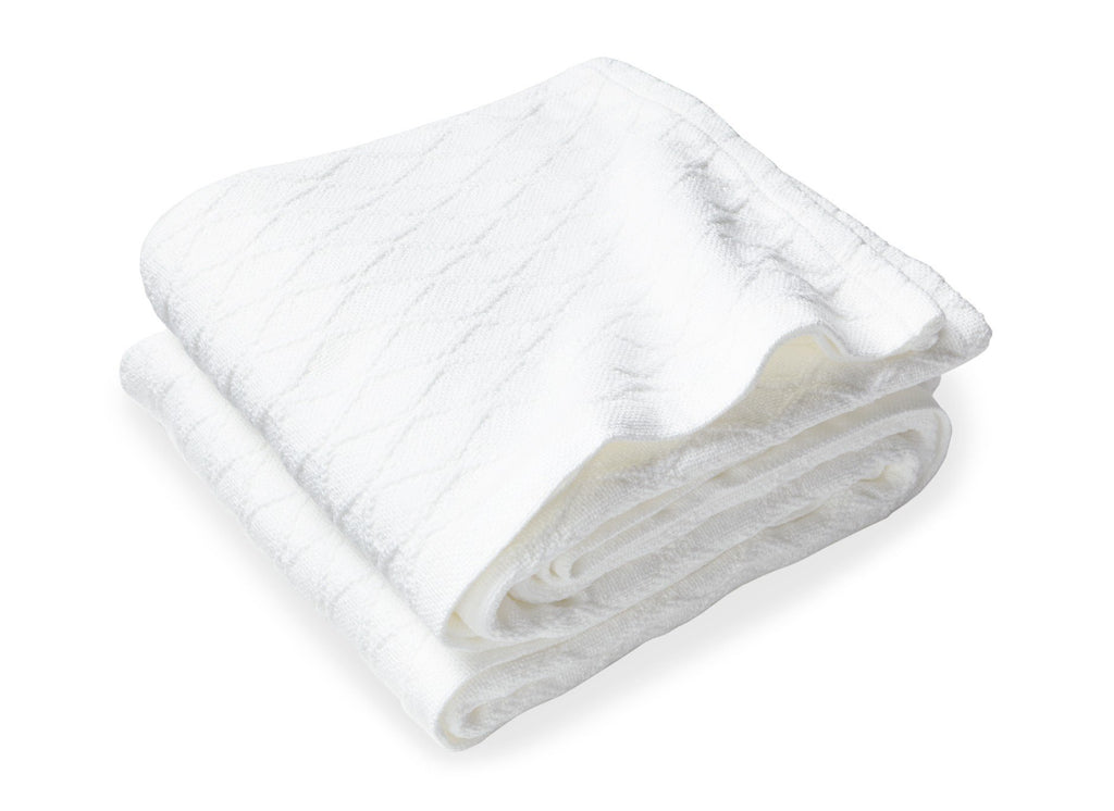 Oxbow White Blanket by Brahms Mount | Fig Linens and Home