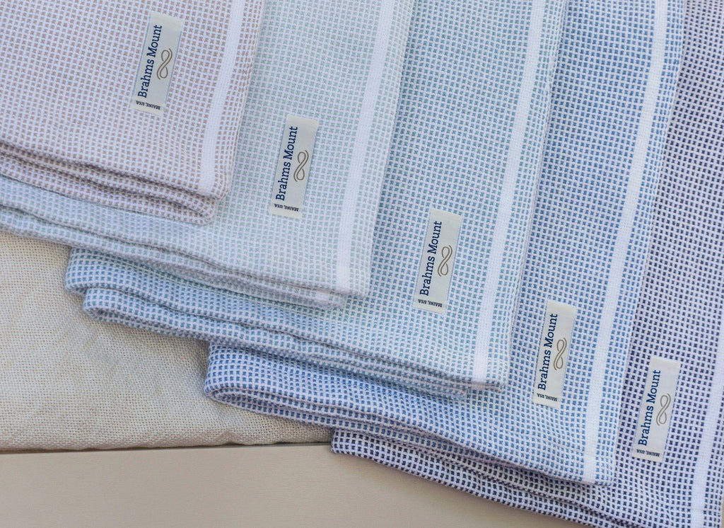 Thorndike Cotton Blankets by Brahms Mount | Fig Linens and Home