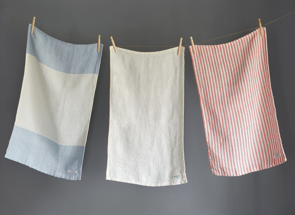 Linen Kitchen Towels by Brahms Mount | Fig Linens
