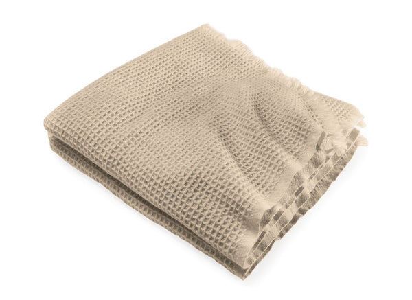 Searsport Camel Wool Throw by Brahms Mount | Fig Linens and Home