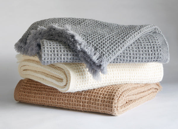 Searsport Wool and Alpaca Throw by Brahms Mount | Fig Linens and Home