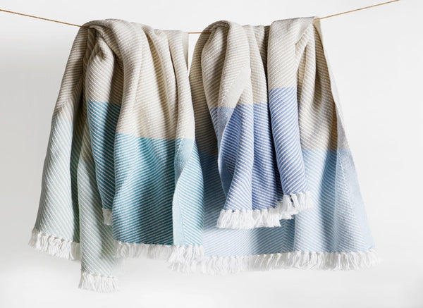 Sugarloaf Fringed Throw by Brahms Mount | Fig Linens