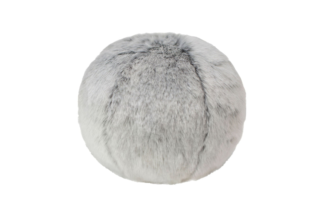 Glacier Faux Fur Snowball by Evelyne Prélonge | Fig Linens and Home
