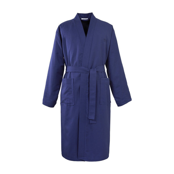 Pique Navy Kimono Robe by Hugo Boss | Fig Linens and Home