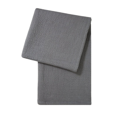 Dunes Grey Throw by Hugo Boss | Fig Fine Linens and Home