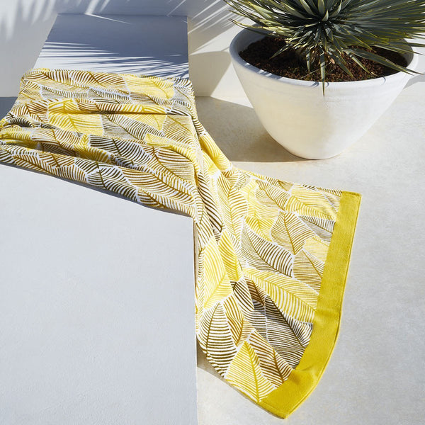 Palm Spring Beach Towel by Hugo Boss | Fig Linens and Home