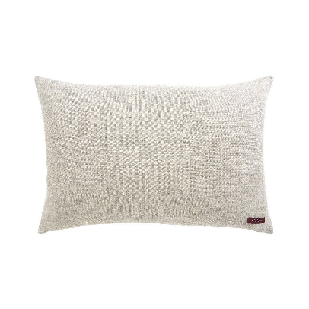 Berlingot Rose Cèdre Lumbar Pillow with Linen Back by Iosis | Fig Linens and Home