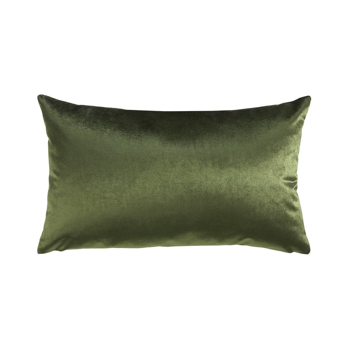 Berlingot Lumbar Decorative Throw Pillows by Iosis Fig Linens - Kaki Olive