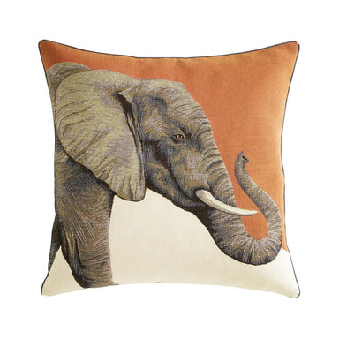 Djumbe Cuir Decorative Pillow by Iosis | Fig Linens