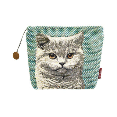 Kochka Meleze Sage Green Tote with Cat by Iosis | Fig Linens