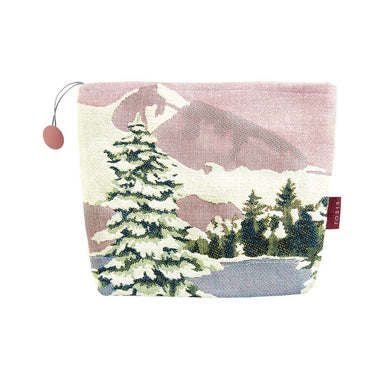 Lac Bleu Aurore Winter Themed Tote by Iosis | Fig Linens and Home