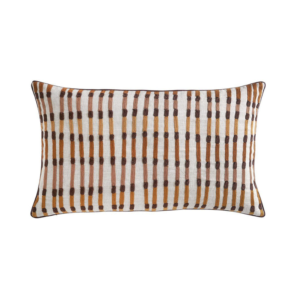 Tonga Ecorce Decorative Pillow by Iosis | Fig Linens