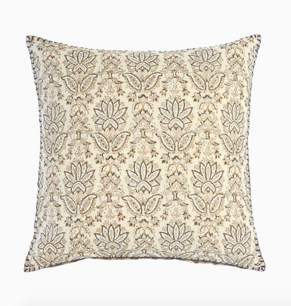 Ninna Metallic Throw Pillow by John Robshaw | Fig Linens